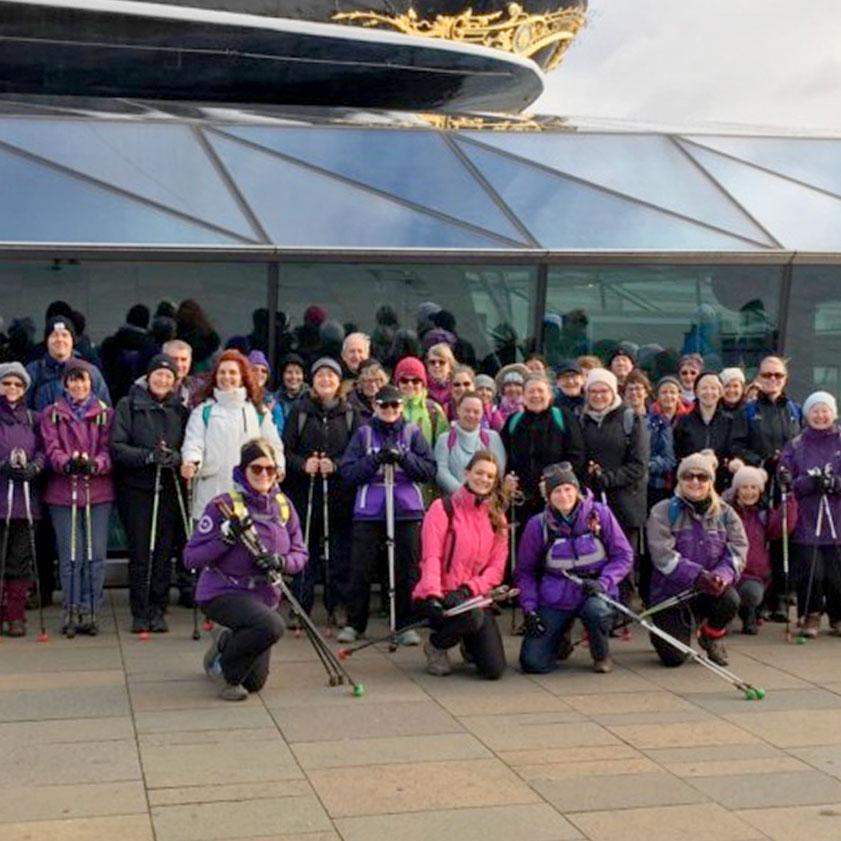 Bexley council Nordic walks