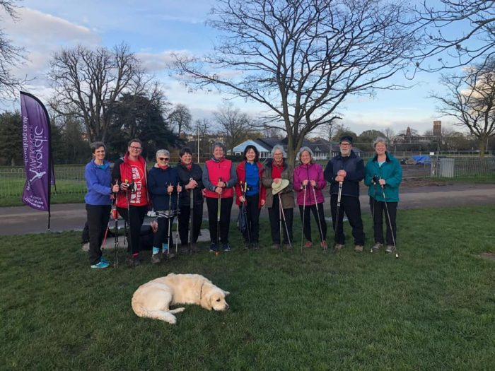 Nordic walking group in warwickshire