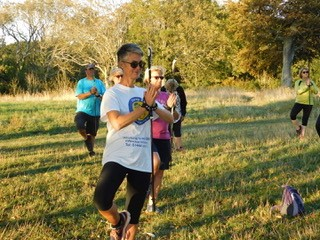 Yoga WALX gets outdoors!
