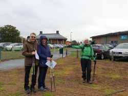 Clients successfully complete the Power of Poles induction