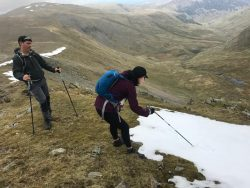 WALX-HelvellynUllswater still finding snow in May